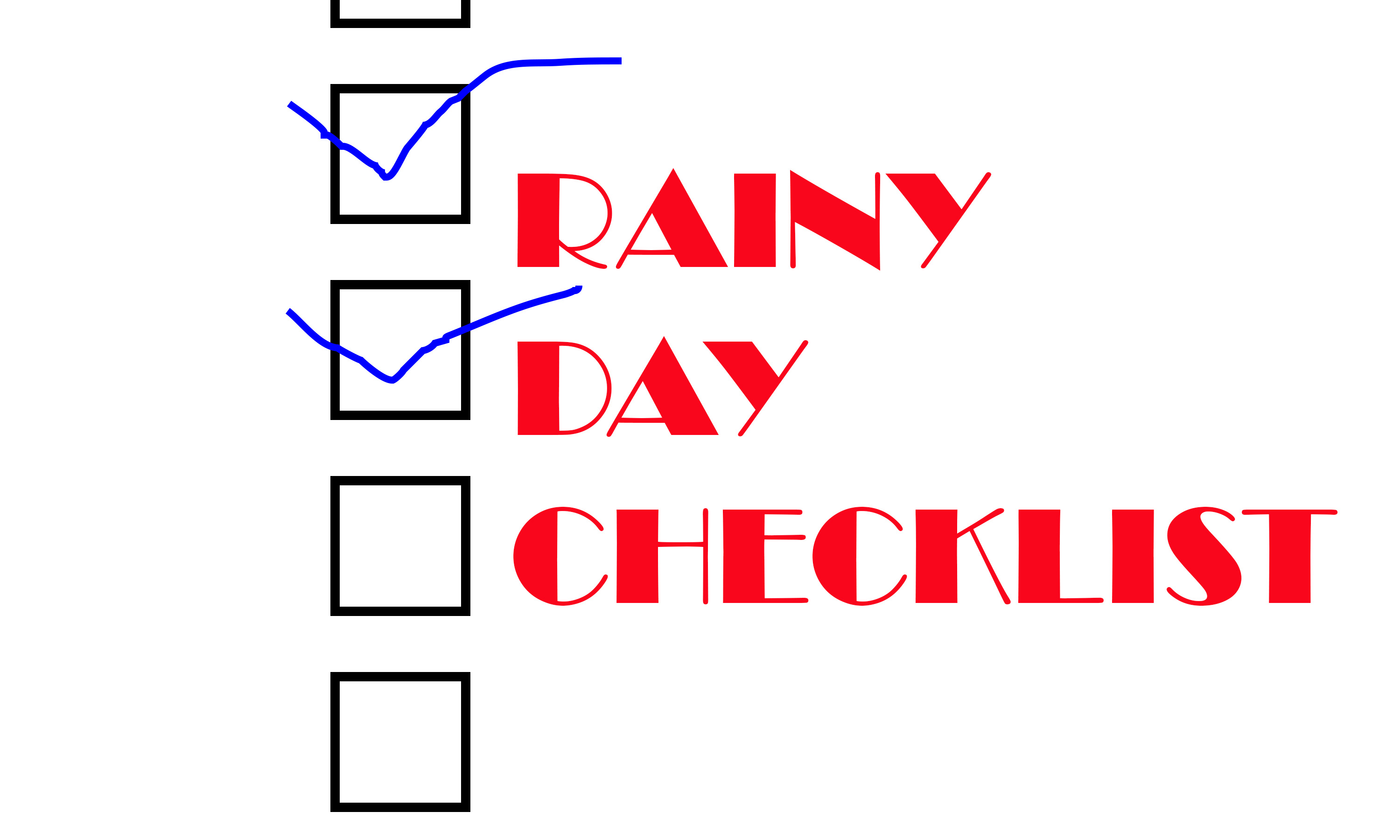 Rainy Day Checklist Jonathan Sewell Sells And So Can You